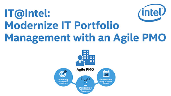 Modernize IT Portfolio Management with an Agile PMO